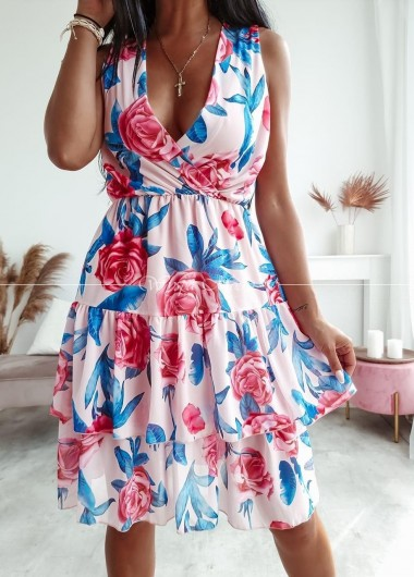 Sukienka rose pink