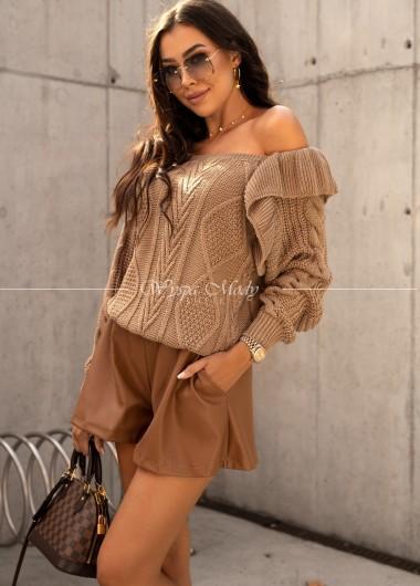 Sweterek Camilla beige