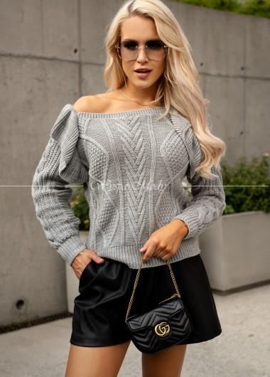 Sweterek Camilla Grey