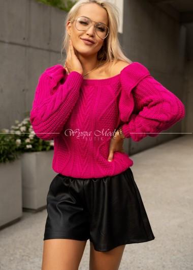 Sweterek Camilla Fuksja