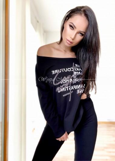 Bluzka couture black