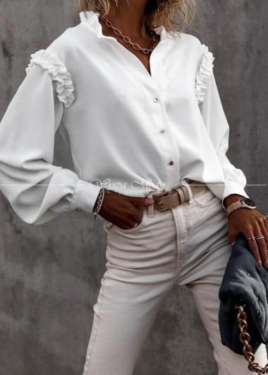 Koszula Alabena white