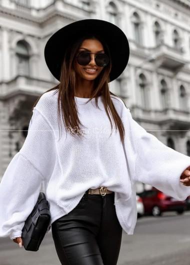 Sweterek oversize Barretos white