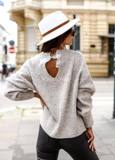 Sweter Aria Grey ( czas realizacji do 10 dni roboczych )
