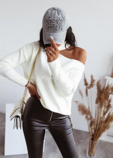 sweterek hoker jewel ecry