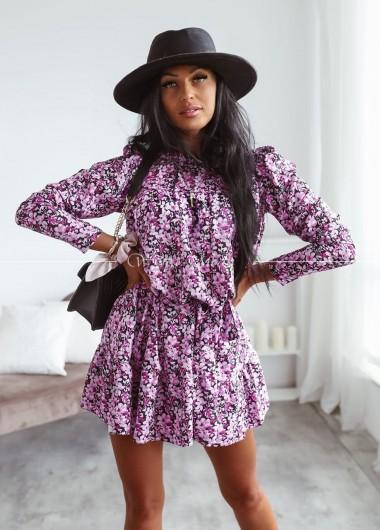 Sukienka wiazana fancy
