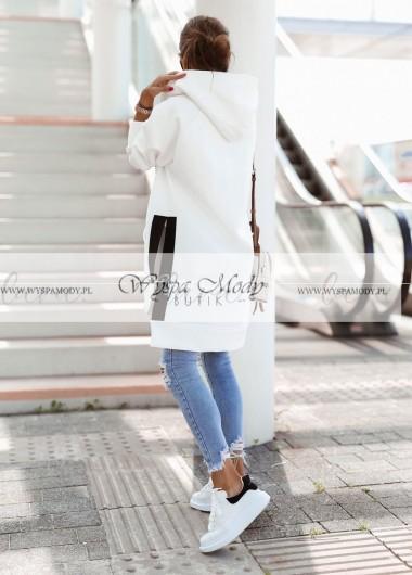 Bluza LONG lara white