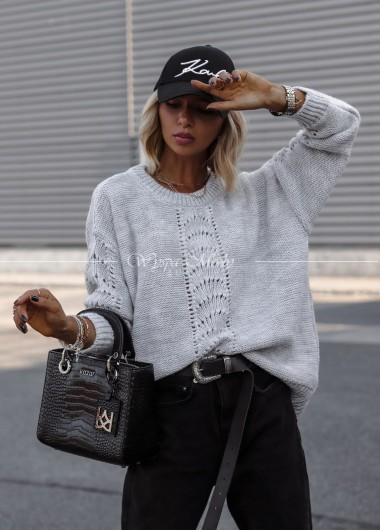 Sweterek Olla grey