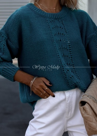 Sweterek Ollay green