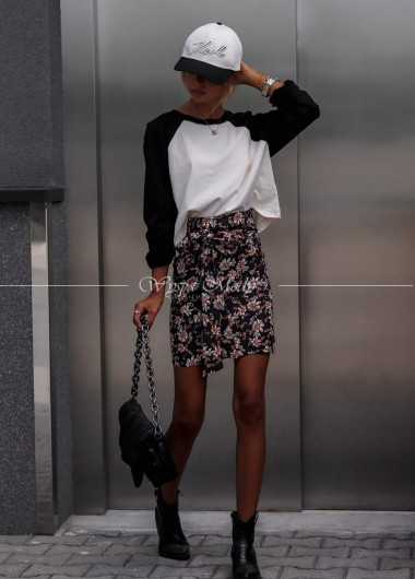 Spódniczka Black Ester Flowers