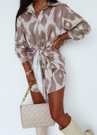 Sukienka wiazana la Blanche
