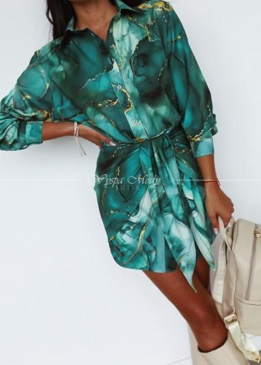 Sukienka wiązana green kanion