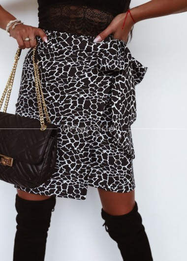 Spódniczka Giraffe black