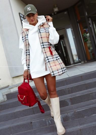 Bluza long white