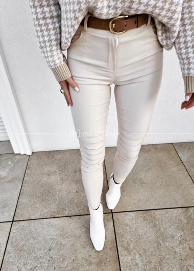 Spodnie Megara beige