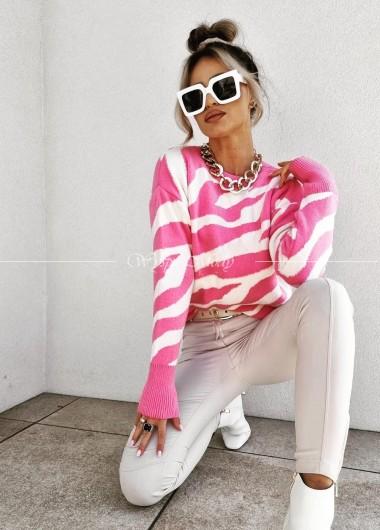 Sweterek Zeberka Pink