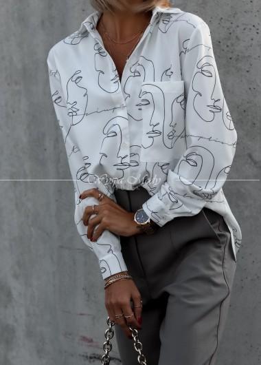 Koszula face white