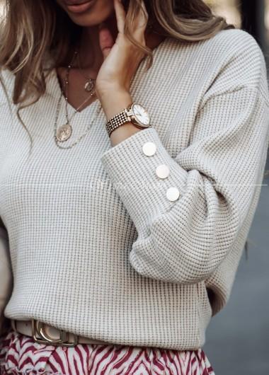 Sweterek Sally beige