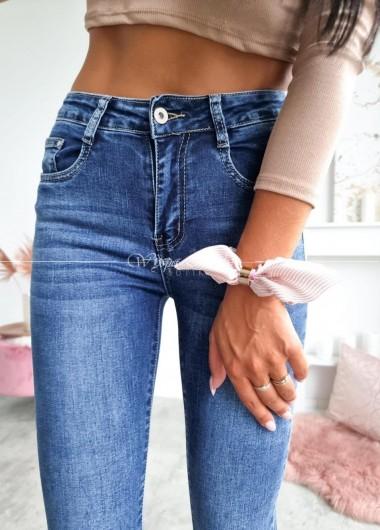 Spodnie jeans blue Edit