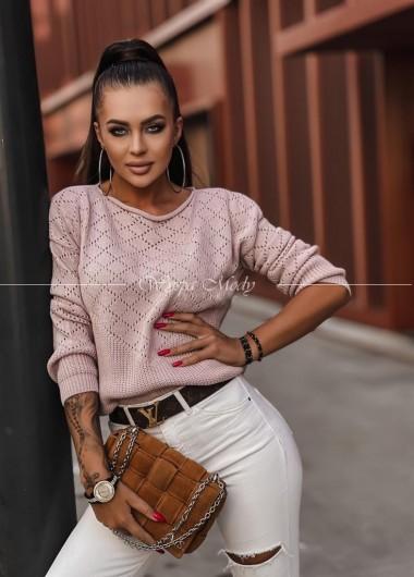 Sweterek Emilly pink