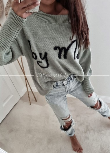 Sweter by me grey