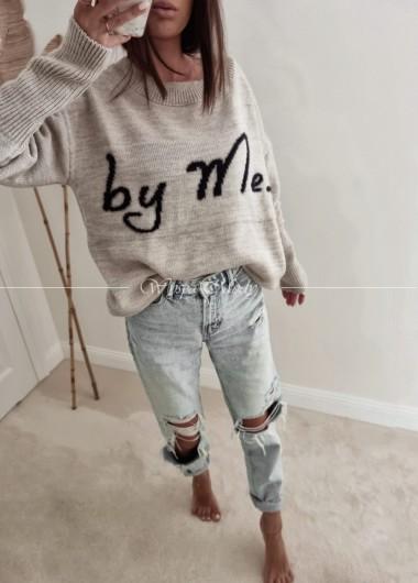 Sweter by me beige