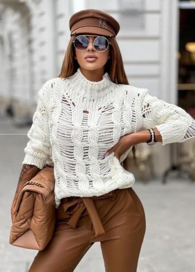 Sweter Fenix ecru