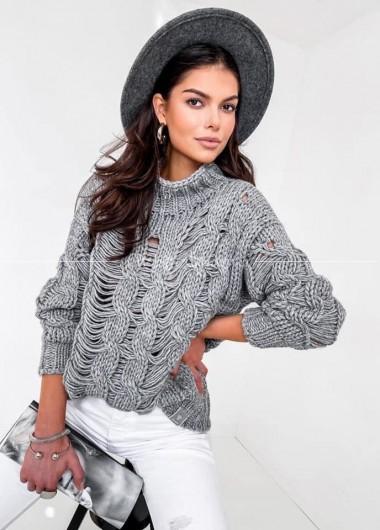 Sweter Fenix grey
