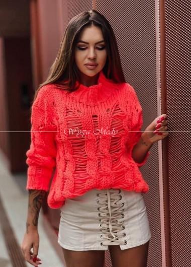 Sweter Fenix neon