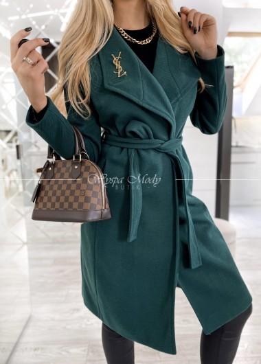 Płaszcz Verso green
