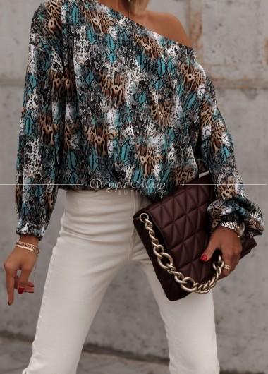 Bluzka pantera multicolor
