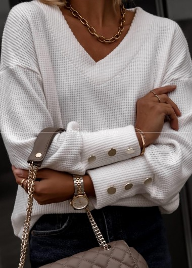 Sweter Florence white