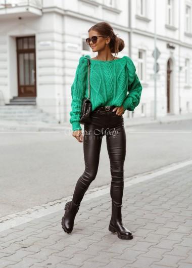 Sweter Green Fakbana