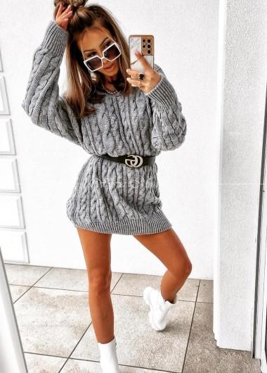 Sukienka swetrkowa Alex grey