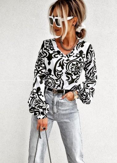 Koszula Dream wzór White & black