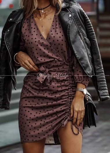 Sukienka w groszki Xana