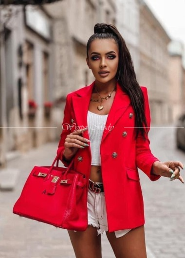 Marynarka Luxury red