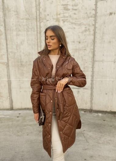 Płaszczyk oversize radlin brown