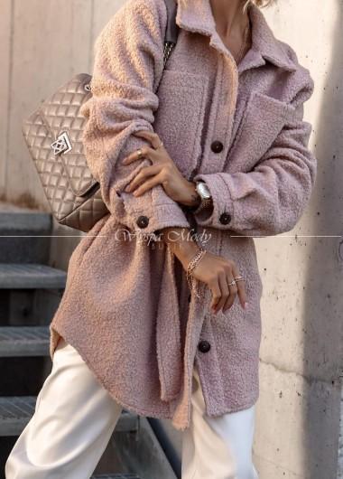 Kurtka teddy pink