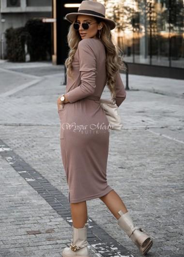 Sukienka Celine mocca