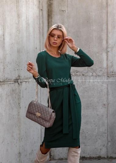 Sukienka Celine green