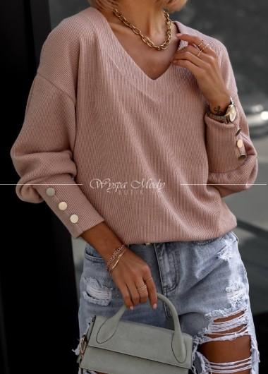 Sweterek fabiola pink