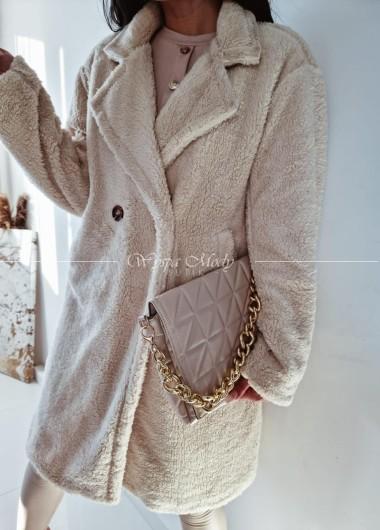Płaszczyk soft beige