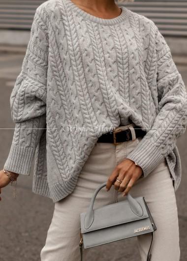 Sweter Ester grey