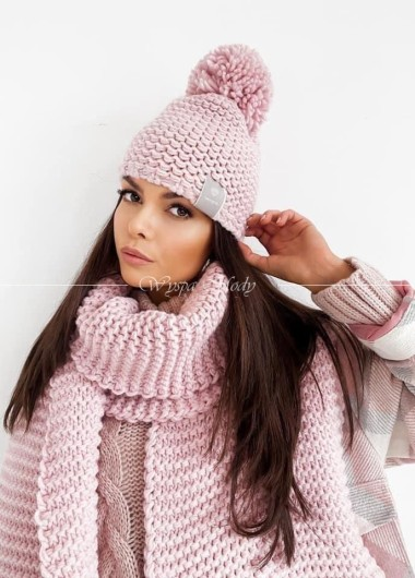 Czapka Winter Alice pink