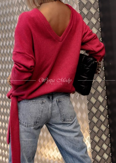 Sweterek Wiązany Wella