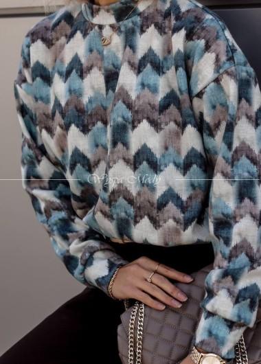 Sweterek multicolor