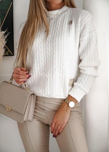 Sweterek Montana white