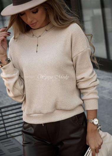 Sweterek Over beige