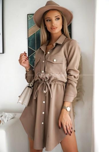 Sukienka Lady mocca